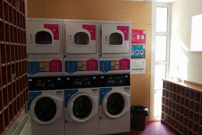 Thomond Village laundry room