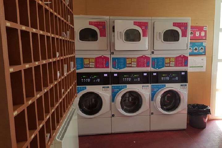 laundry facilities at Thomond Village